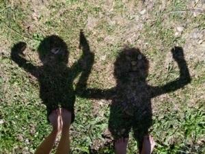Les enfants du gîte Riparia