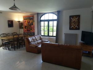 Gite Riparia - salon salle à manger