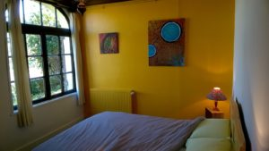 """La """"petite chambre au grand lit"""" (160)"""